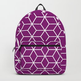 Winter 2019 Color: Orchid Blood in Cubes Backpack