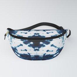 Velvet Shibori Blue Fanny Pack