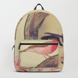 Fairy Face Girl Backpack