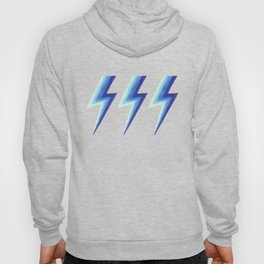Blue Bolts Hoody