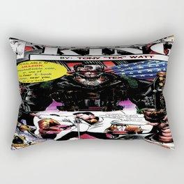 """""""Code Name: King""""  - Comic Book Promo Poster  Rectangular Pillow"""