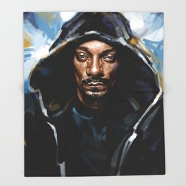 Snoop Throw Blanket