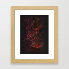 Jellyfish Dust Framed Art Print