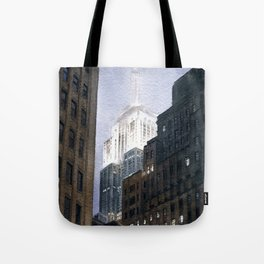 Manhattan Fog Tote Bag