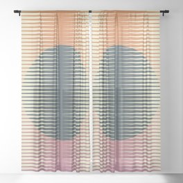 Papercuts 8 Sheer Curtain
