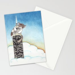 Miss Kitty Takes New York Stationery Cards