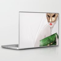 jane eyre Laptop & iPad Skins featuring Jane  by OLLIE HARPER