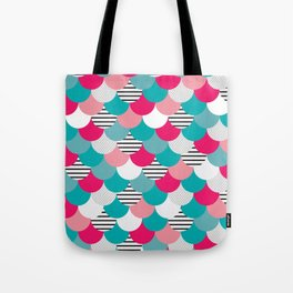 Scale Pattern Tote Bag