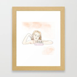 Love Ridden Framed Art Print