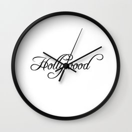 Hollywood Wall Clock