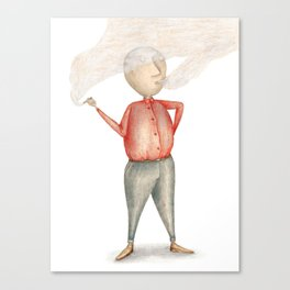 Amstermannetje #2 Canvas Print