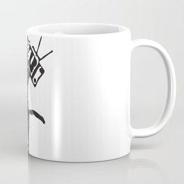 Television kitty Coffee Mug