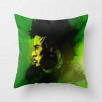 neymar Throw Pillows featuring Neymar J.r by drasik