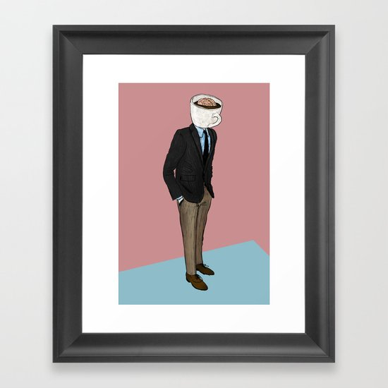 IT'S MORNING AND I THINK OF YOU Framed Art Print