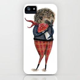 Herbert the hedgehog iPhone Case