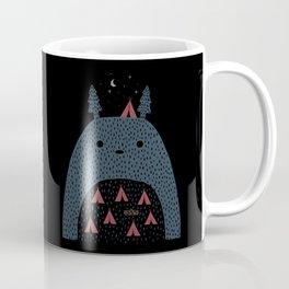 Camping a Mt. Totorou Coffee Mug