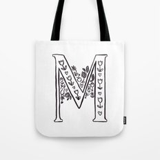 M is for Tote Bag