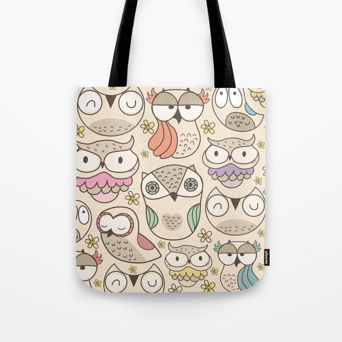 The owling Tote Bag