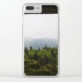 The Forest View Clear iPhone Case
