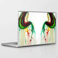 coldplay Laptop & iPad Skins featuring Lost by Santa Norvaisaite