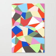 Geomesh 01 Canvas Print