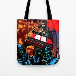 Devil Planet Tote Bag