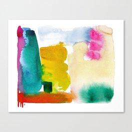 Pueblo Colorido Canvas Print