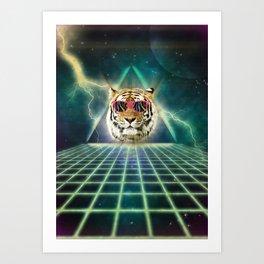 Retro80 is the new wave Art Print