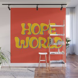 hope world Wall Mural
