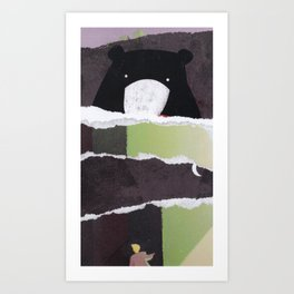 Into the Woods we Go Art Print