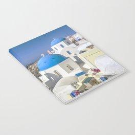 Santorini, Oia Village, Greece Notebook