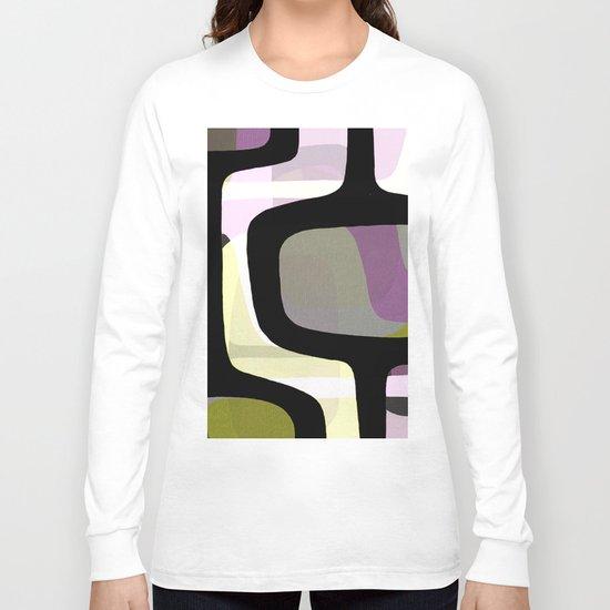 Mid Century Abstract 1 Long Sleeve T-shirt
