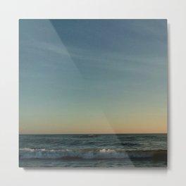 Oceanic landscape: Lacanau  4 Metal Print