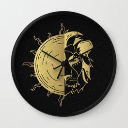 MINIMALIST ZODIAC SERIES - Leo Sun Wall Clock