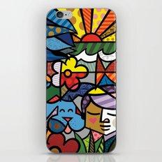Abstract Digital Art iPhone & iPod Skin