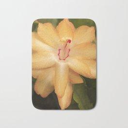 Christmas Cactus Flower Bath Mat