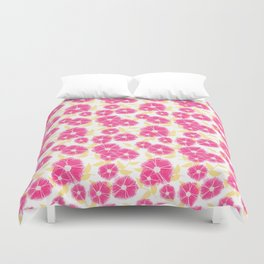 12 Sketched Mini Flowers Duvet Cover