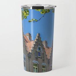 Bruges skyline Travel Mug