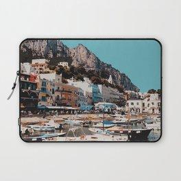 Capri, Italy Travel Artwork Laptop Sleeve