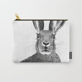 'The March Hare' stippling drawing Carry-All Pouch