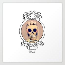 Dia de los Muertas Novia Art Print