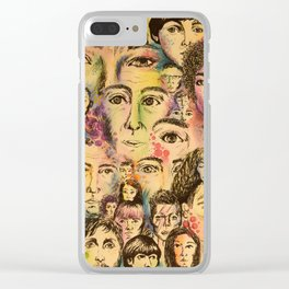 One in the Same Clear iPhone Case