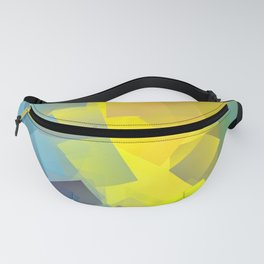 Cubism Abstract 205 Fanny Pack