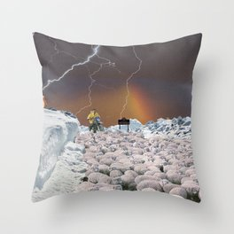 ''Sheperd Delight'' 2018 Throw Pillow