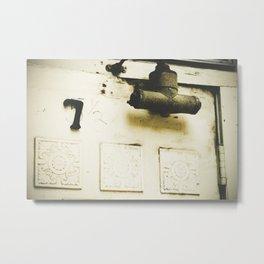 5 1/2, no, 7 Metal Print