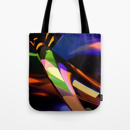 Abstract Six Tote Bag