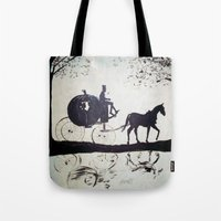 cinderella Tote Bags featuring Cinderella  by Lamont Powell