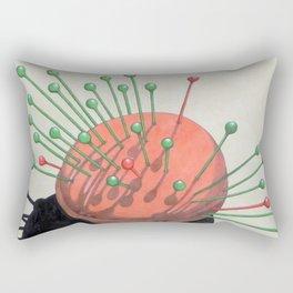 pincushion n. 2 (ORIGINAL SOLD). Rectangular Pillow