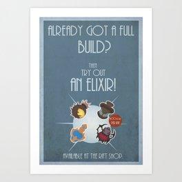 League of legends Elixir poster! Art Print