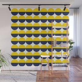 Geometric Eclipse Wall Mural